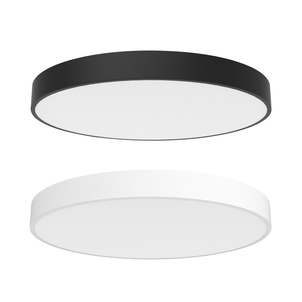 Modern Indoor Circle Acrylic Flush Dimmable LED Ceiling Lights Lamps For Balcony